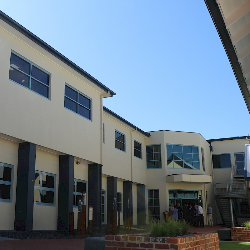 North Wing Official Opening image